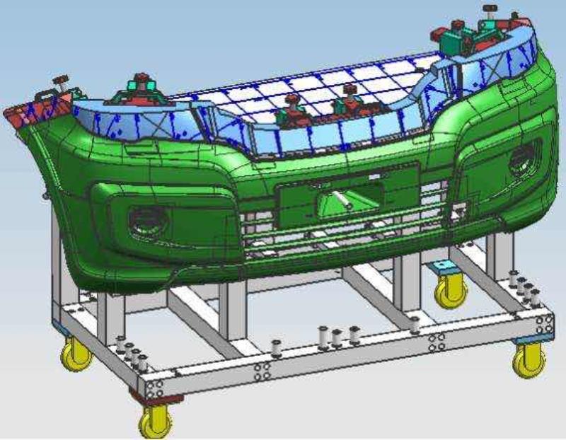 汽车保险杠检具-功能测试设备,测试仪器,测试治具,化